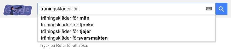 Idéer kring sökfraser