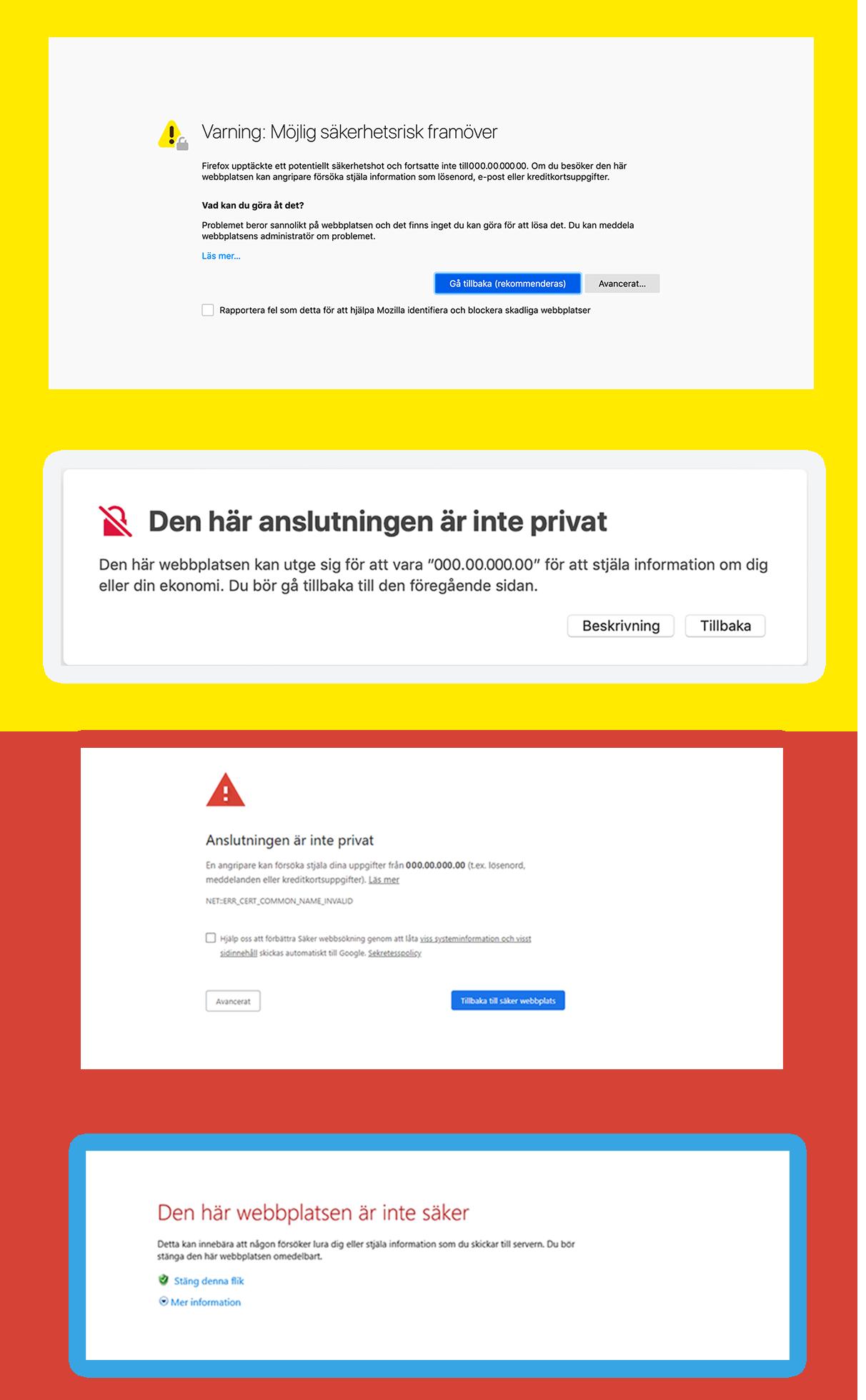 SSL-certifikat skapar kundförtroende