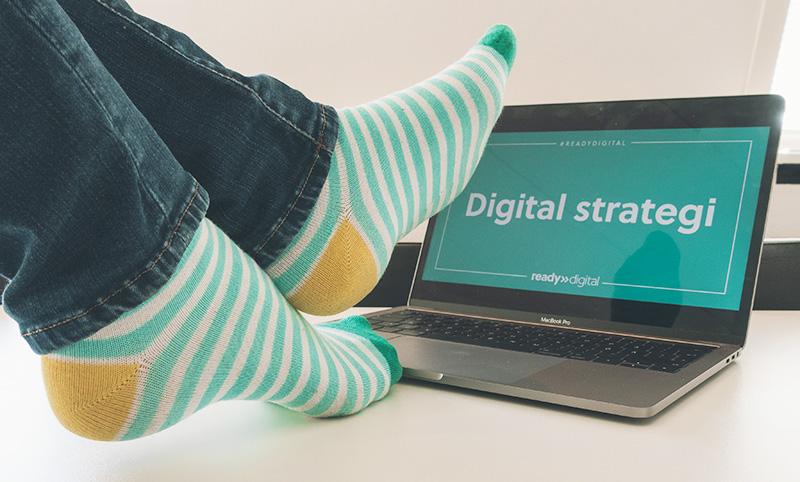 Digital Strategi - Strumpselfie