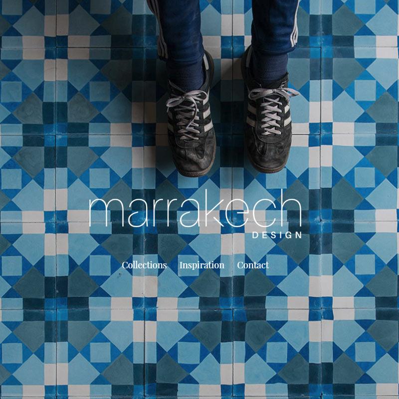 hemsida i WordPress till Marrakech Design