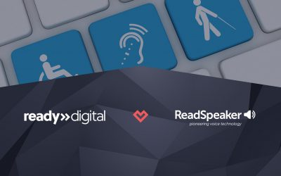 Ready Digital inleder samarbete med ReadSpeaker